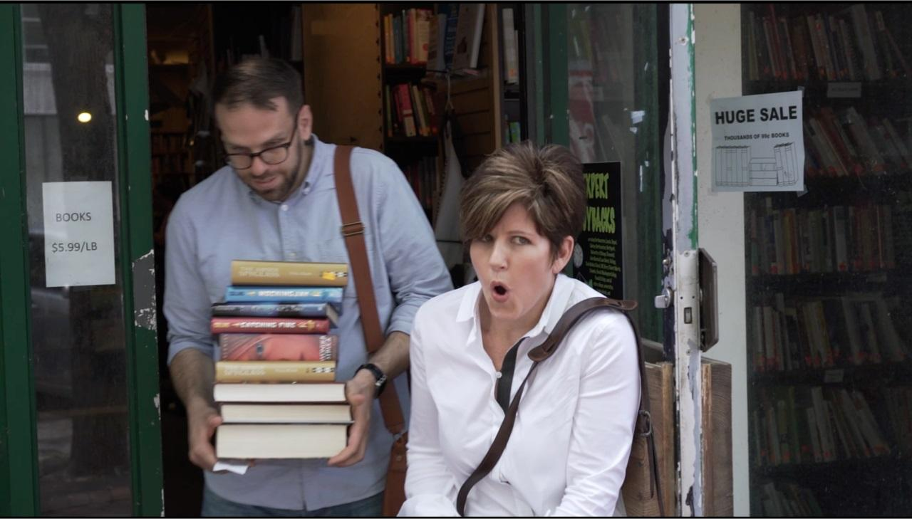 Amy Brent at a bookstore. Photo: Courtesy Stuart Brent Children's Book Club