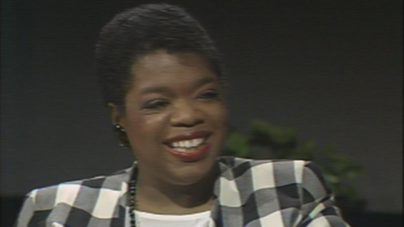 Oprah Winfrey on WTTW's Callaway Magazine in 1984