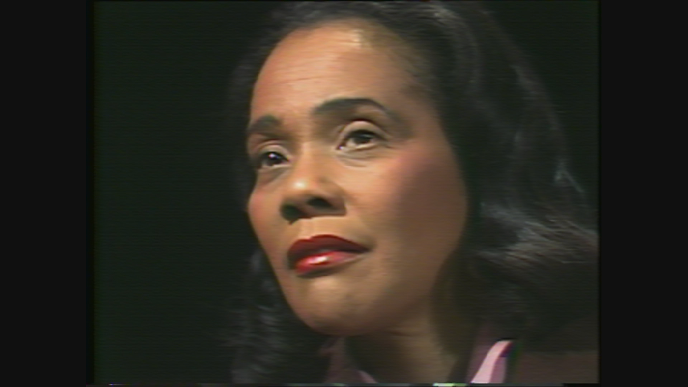 Coretta Scott King, the widow of Martin Luther King, Jr. on WTTW