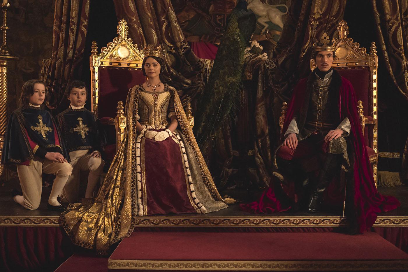 Queen Victoria and Prince Albert. Photo: Courtesy of ITV Studios