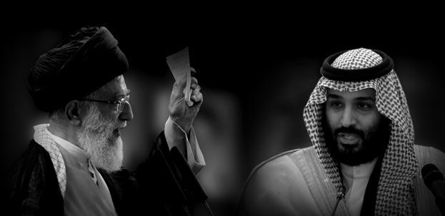 Iran's Supreme Leader Ayatollah Ali Khamenei and Saudi Crown Prince Mohammed bin Salman. Photos: REUTERS/Morteza Nikoubazl & Bandar Algaloud/Saudi Royal Court/Handout via REUTERS