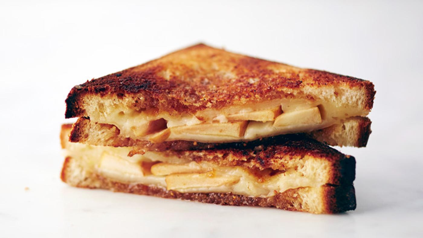 Martha Stewart's Grown-up Grilled Cheese. Photo: Bryan Gardner