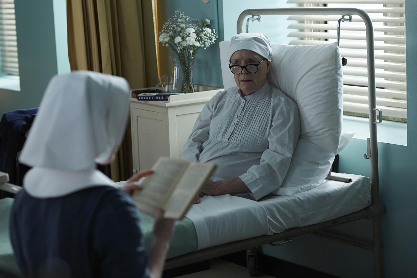 Sister Winifred and Sister Monica Joan in Call the Midwife. Photo: Neal Street Productions