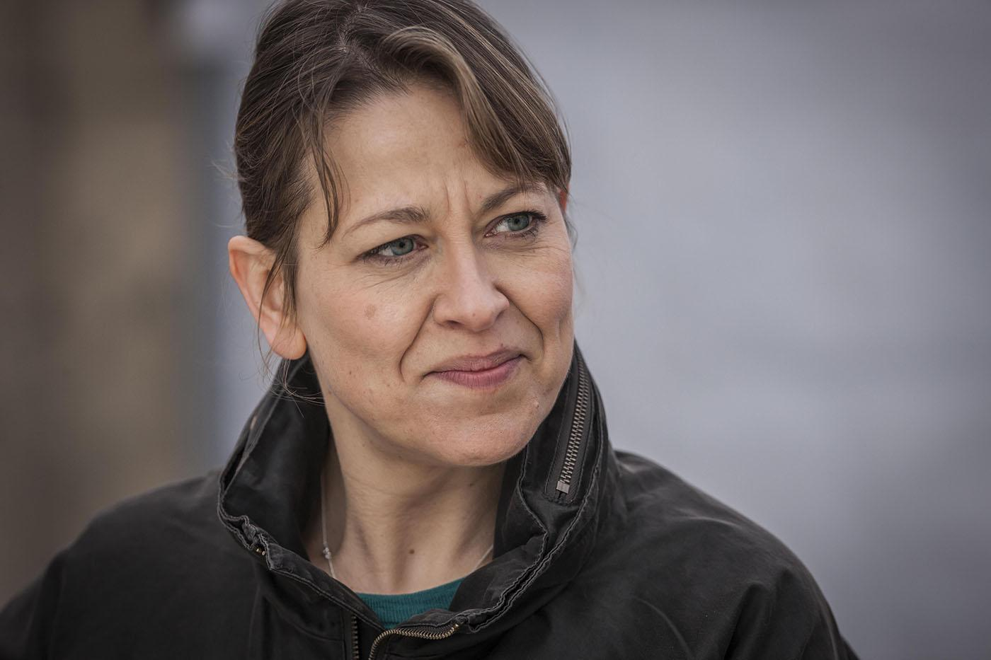 Nicola Walker as DCI Cassie Stuart. Photo: John Rogers/Mainstreet Pictures