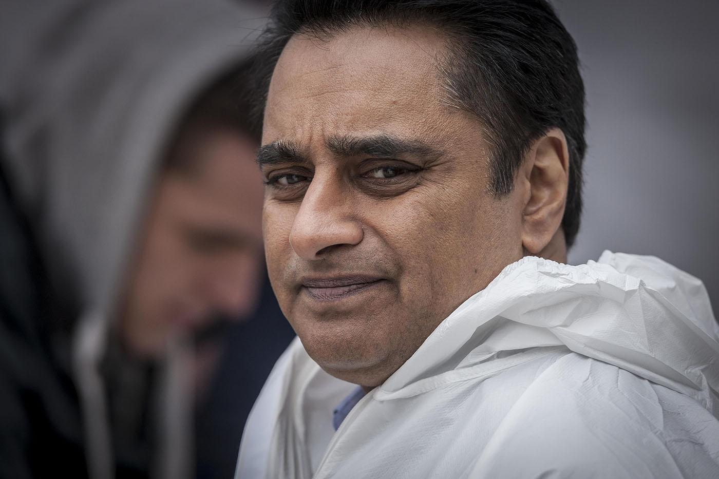 Sanjeev Bhaskar as DS Sunny Khan in Unforgotten. Photo: John Rogers/Mainstreet Pictures