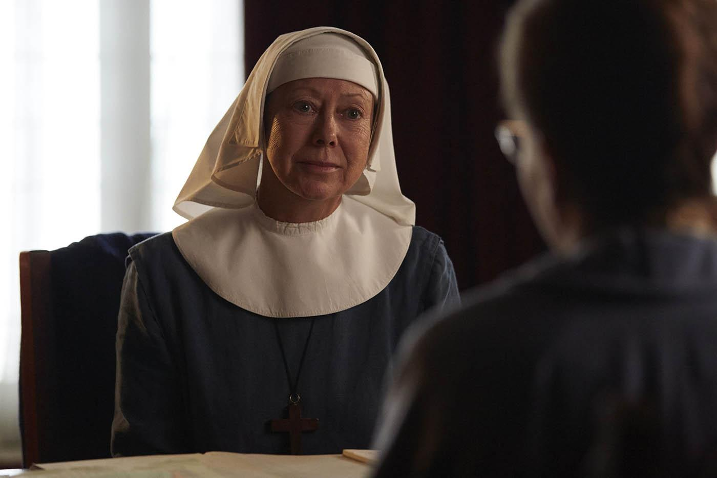 Sister Julienne and Shelagh Turner in Call the Midwife. Photo: Neal Street Productions