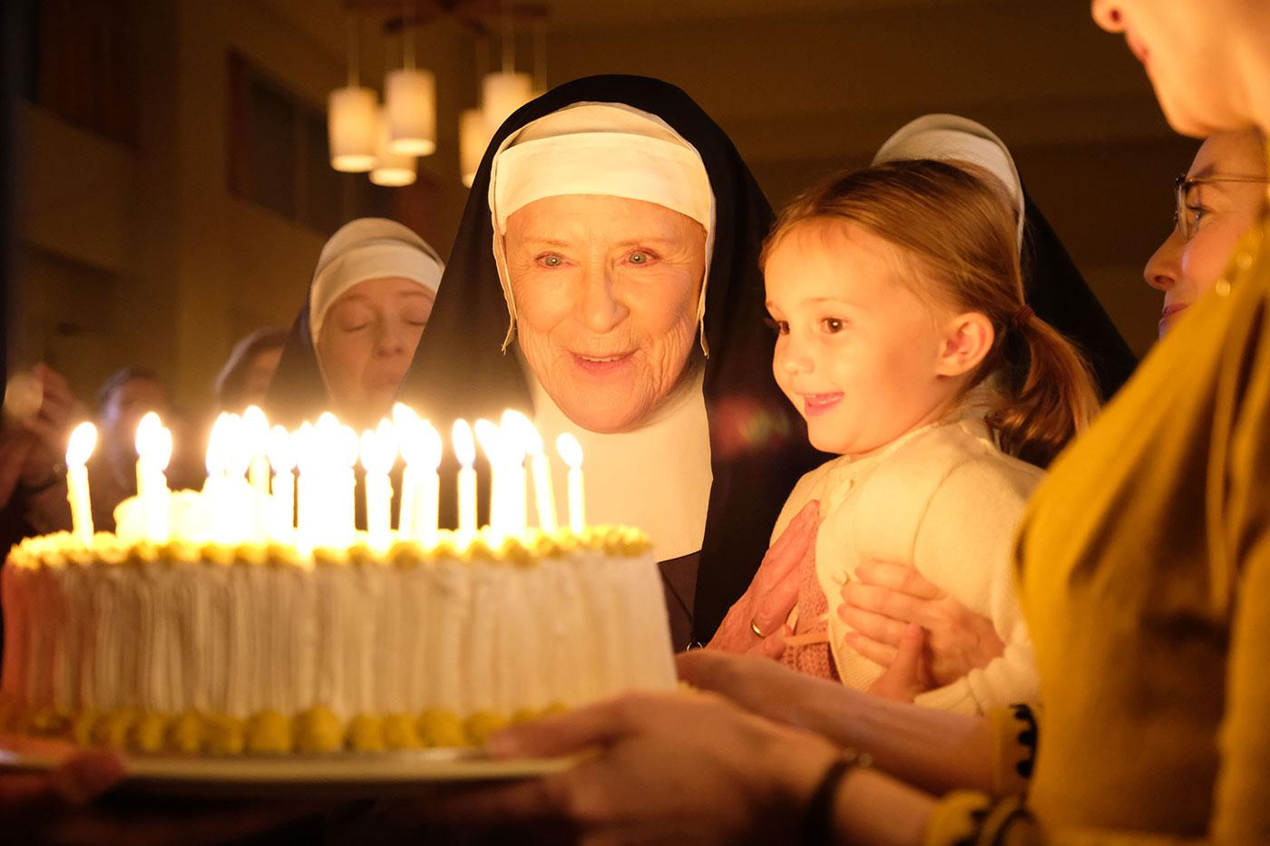 Sister Monica Joan in Call the Midwife. Photo: Neal Street Productions