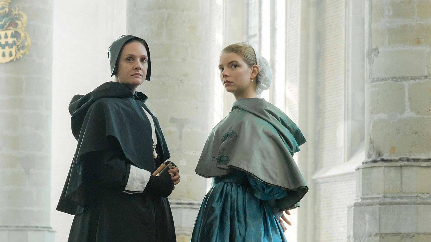 Marin (Romola Garai) and Nella (Anya Taylor-Joy) in The Miniaturist. Photo: BBC/MASTERPIECE