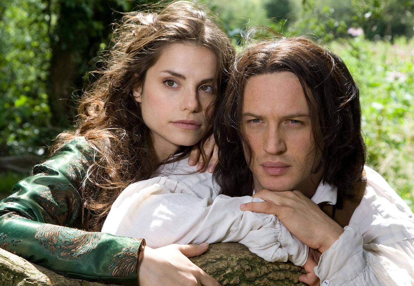 Cathy (Charlotte Riley) and Heathcliff (Tom Hardy) in Wuthering Heights. Photo: ITV