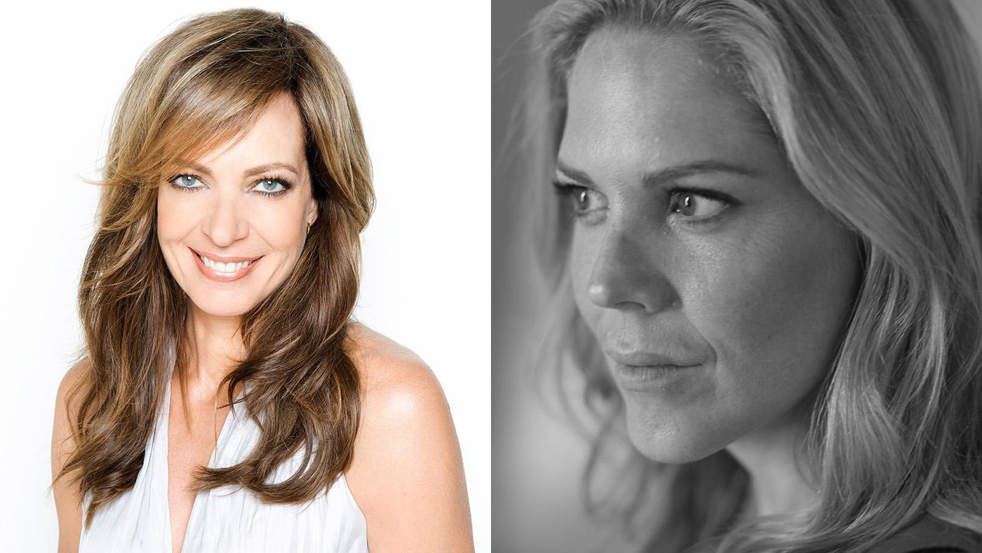 Allison Janney and Mary McCormack