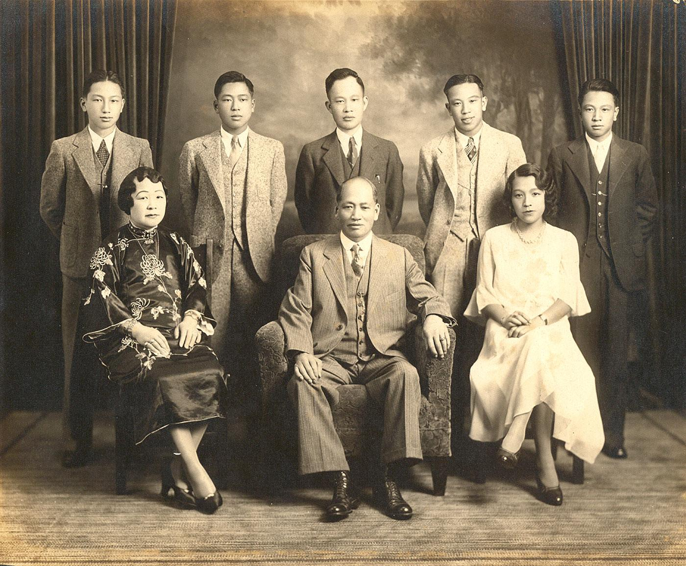 The Lim Family, American born and educated. Photo: Lim Tong Family Archives