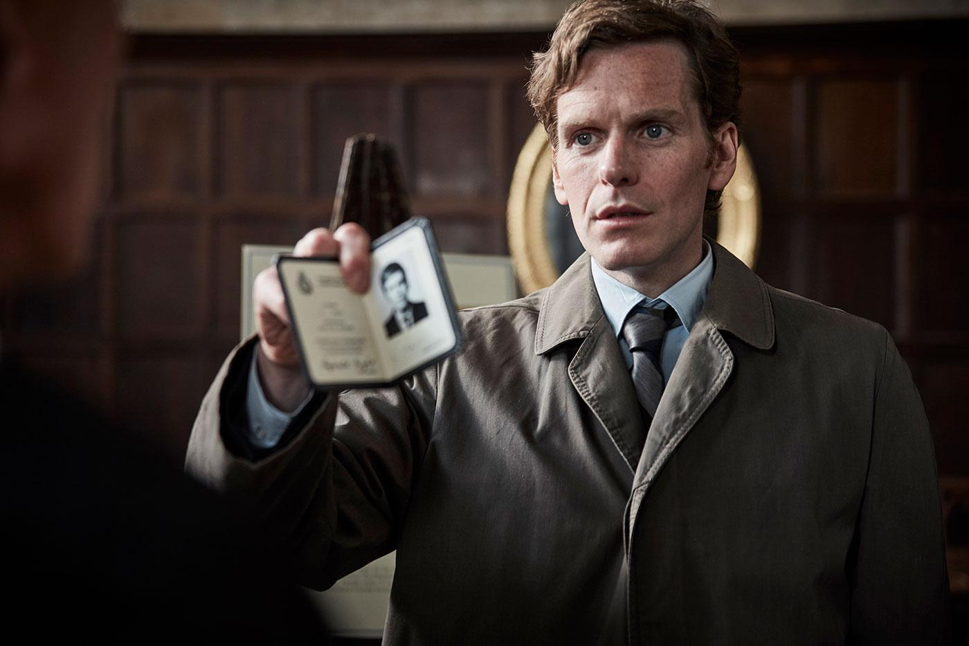 Shaun Evans as Detective Sergeant Endeavour Morse. Photo: ITV and Masterpiece