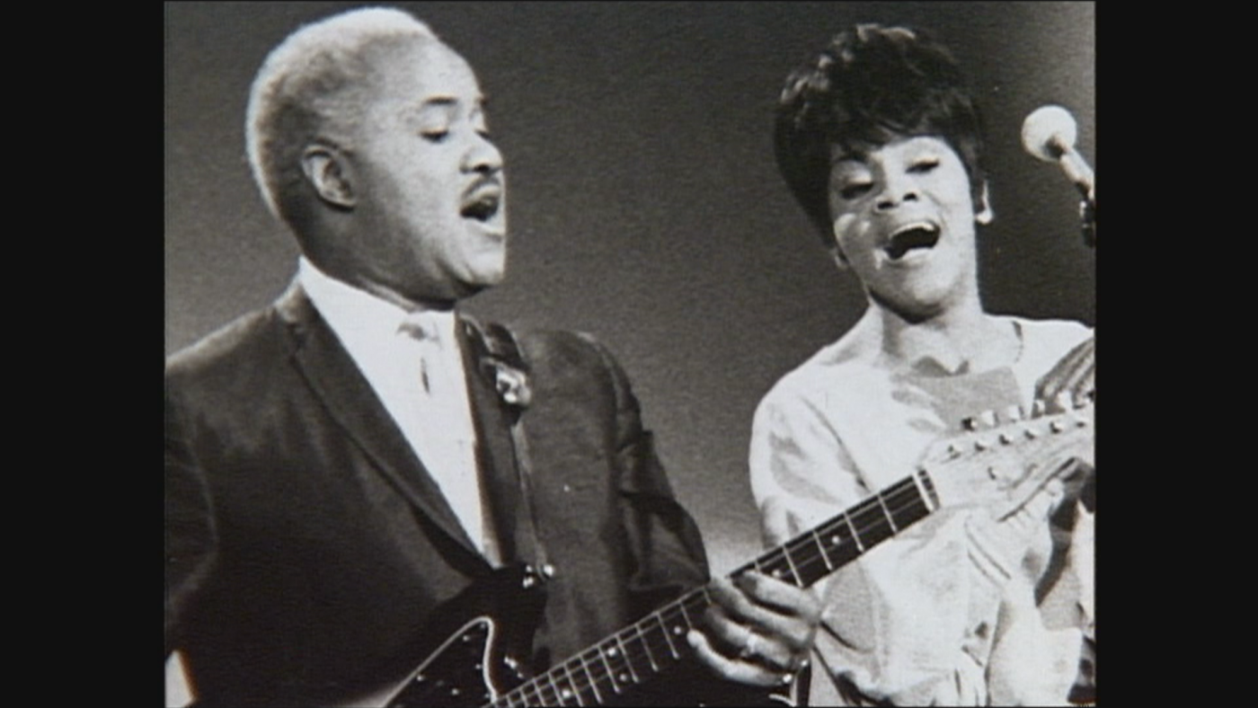 Pops and Mavis Staples