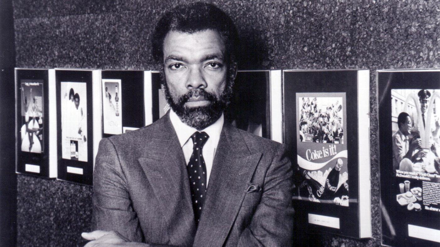 Tom burrell was the first black person to work in a chicago advertising agency in the mailroom