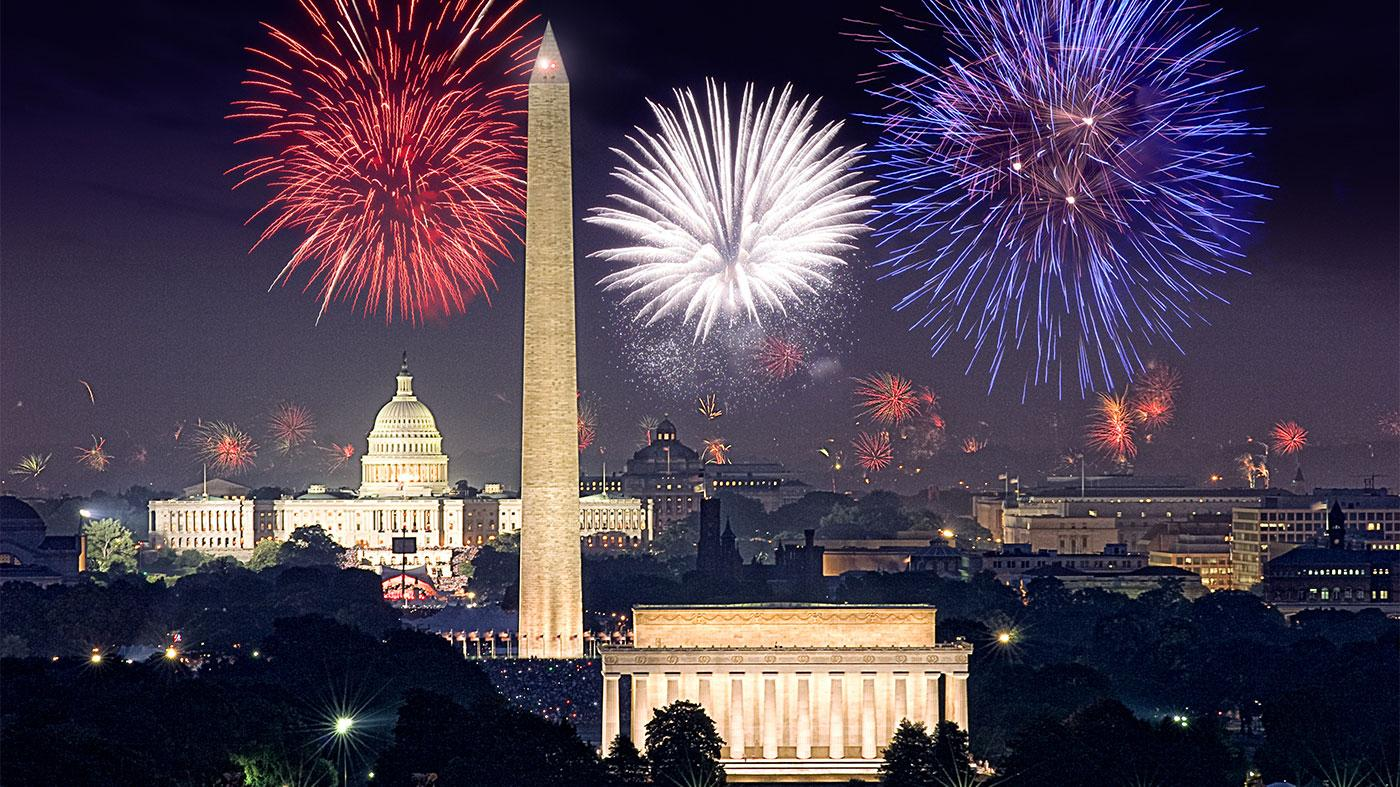 Fourth of July fireworks in Washington, D.C. Photo: Capital Concerts