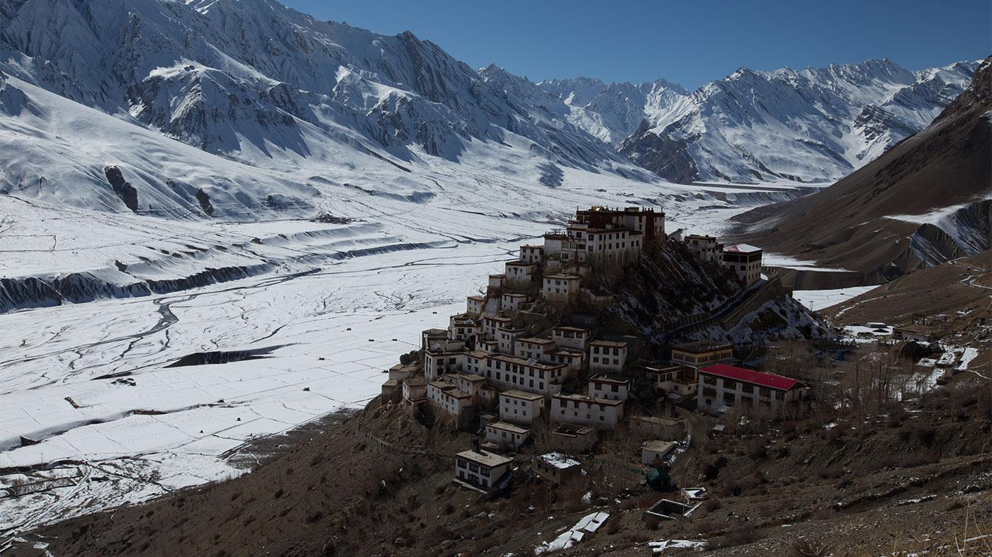 Key monastery in India's Spiti Valley. Photo: Hector Skevington-Postles