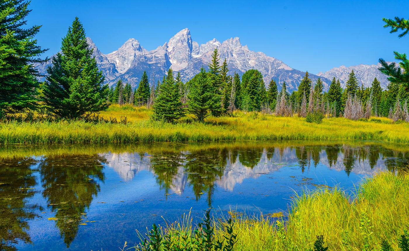 Grand Teton National Park. Photo: bondjb/shutterstock.com