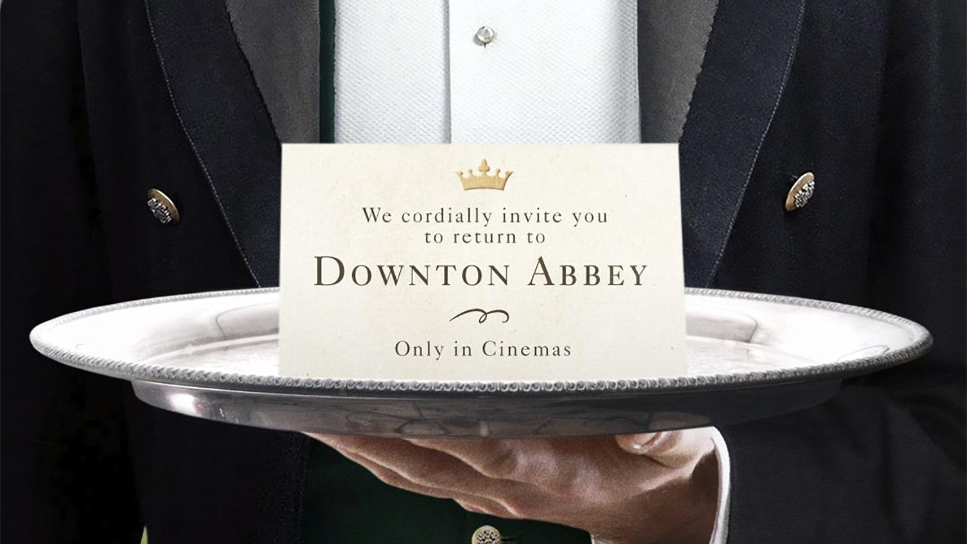 We cordially invite you to return to Downton Abbey only in cinemas