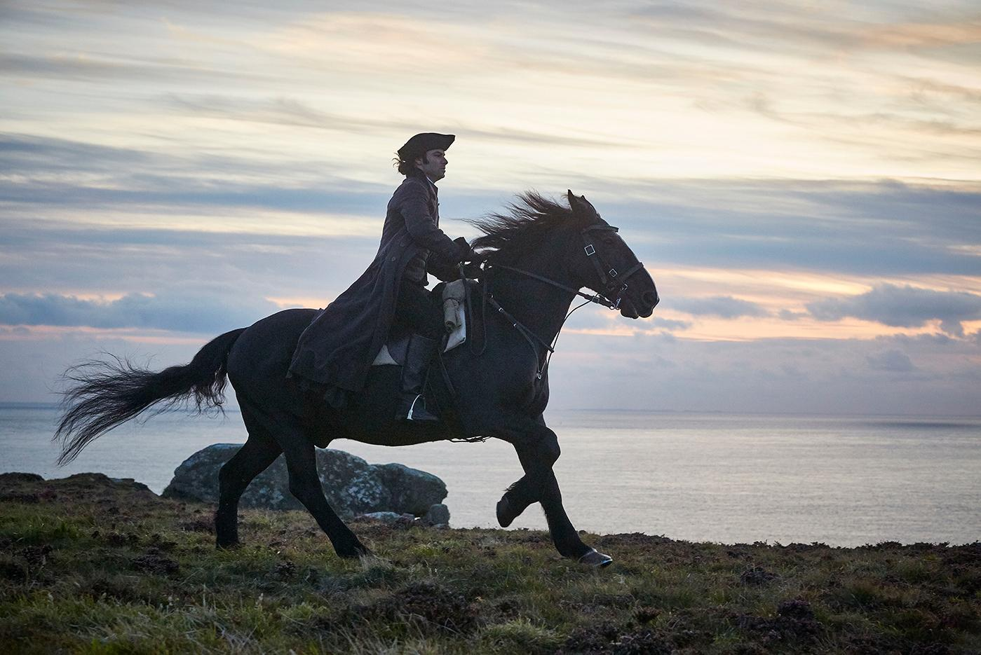 Aidan Turner as Ross Poldark. Photo: Mammoth Screen for BBC and MASTERPIECE