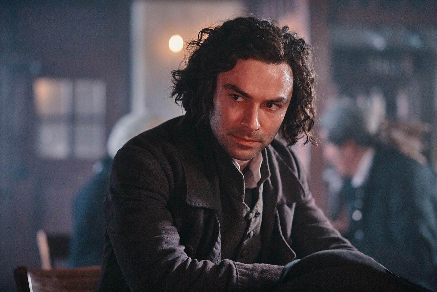 Aidan Turner as Ross in Poldark. Photo: Mammoth Screen for BBC and MASTERPIECE