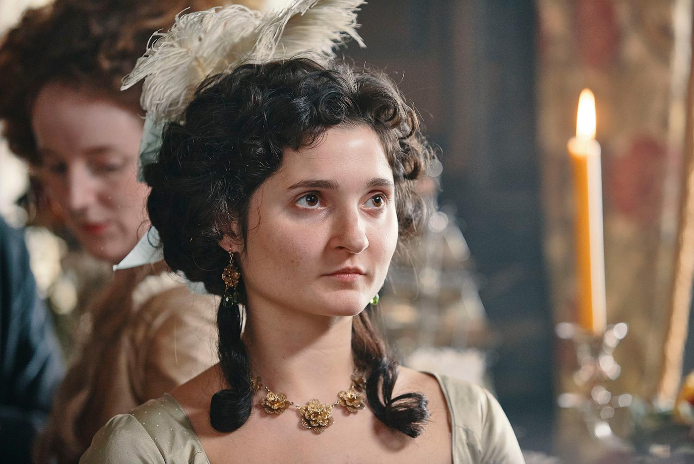 Ruby Bentall as Verity in Poldark. Photo: Mammoth Screen for BBC and MASTERPIECE