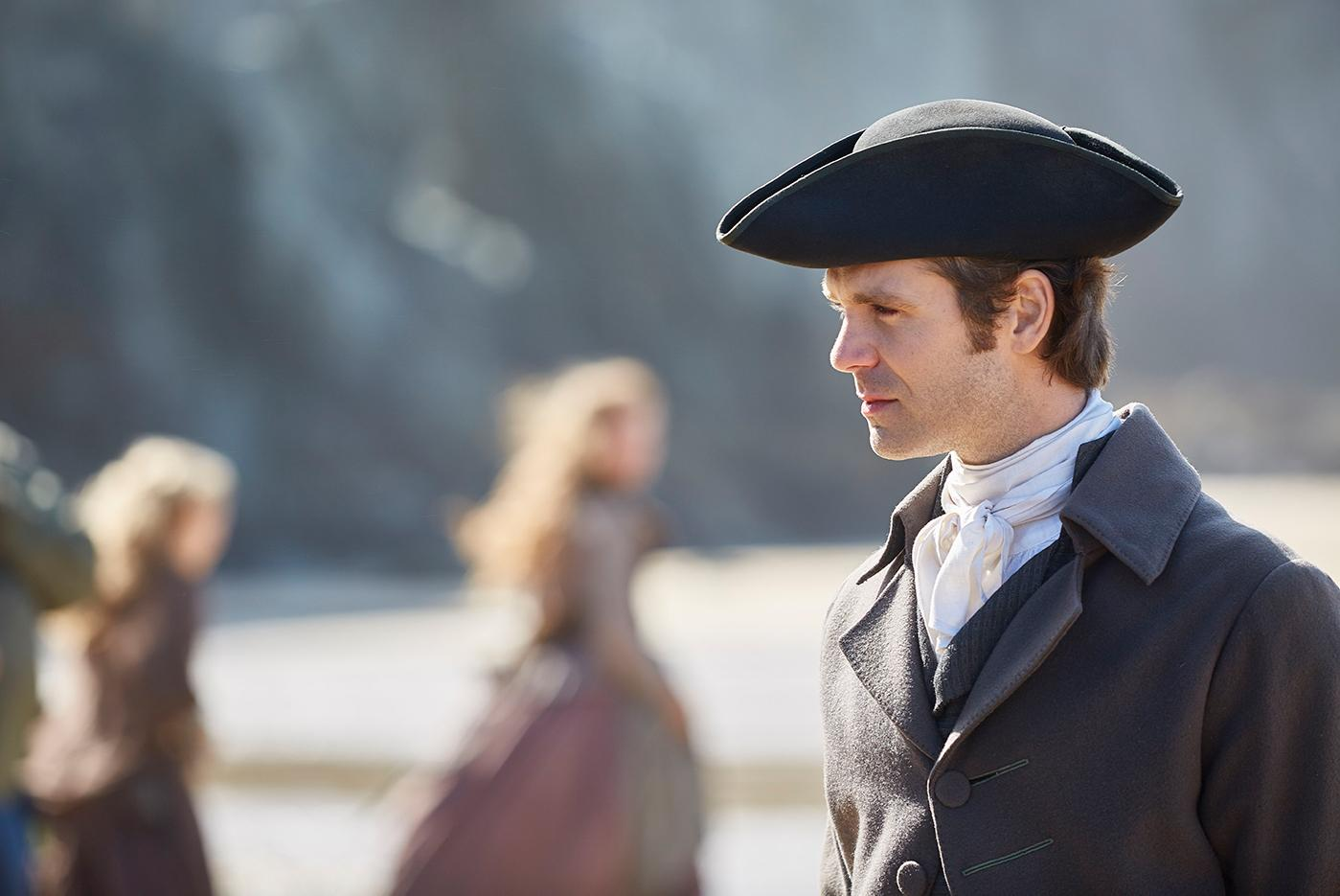 Luke Norris as Dwight in Poldark. Photo: Mammoth Screen for BBC and MASTERPIECE