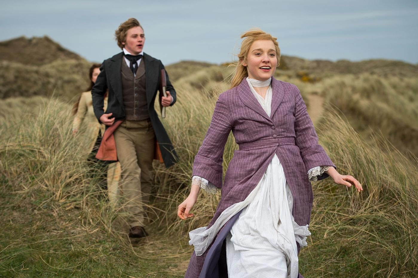 Ben Hardy as Walter Hartright and Olivia Vinall as Laura Fairlie in the Woman in White. Photo: The Woman in White Productions Ltd. / Steffan Hill / Origin Pictures