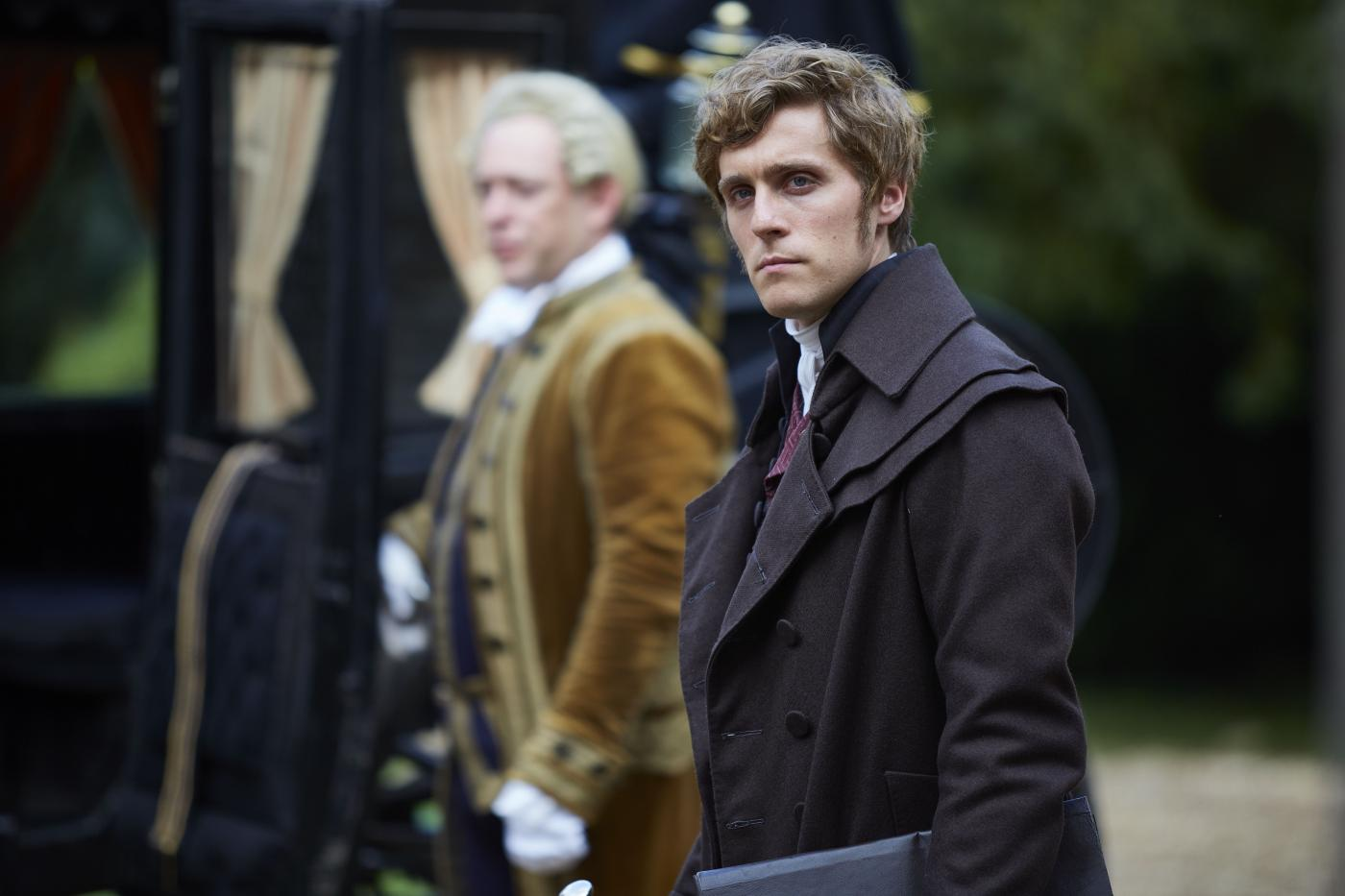 Jack Farthing as George in Poldark. Photo: Mammoth Screen for BBC and MASTERPIECE