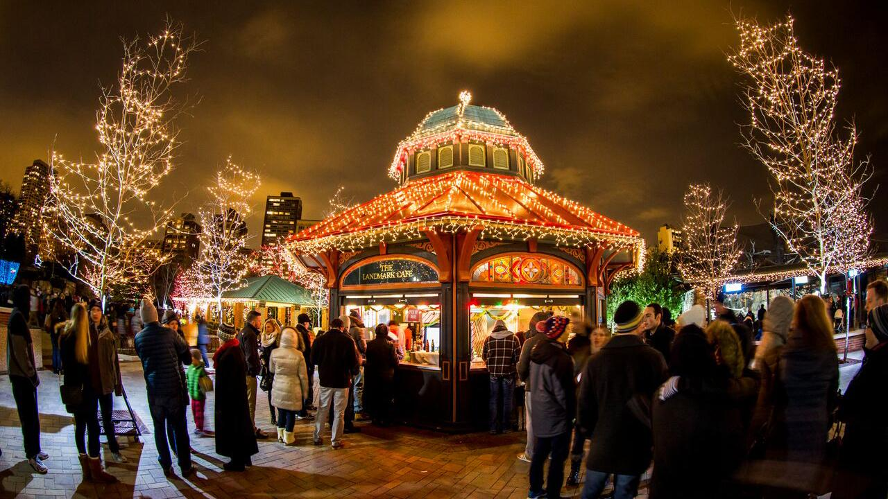 Lincoln Park ZooLights. Photo: Lincoln Park Zoo