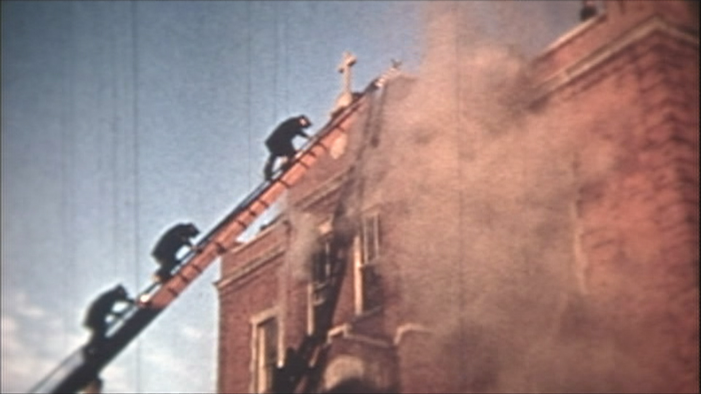 The Our Lady of the Angels school fire in Chicago