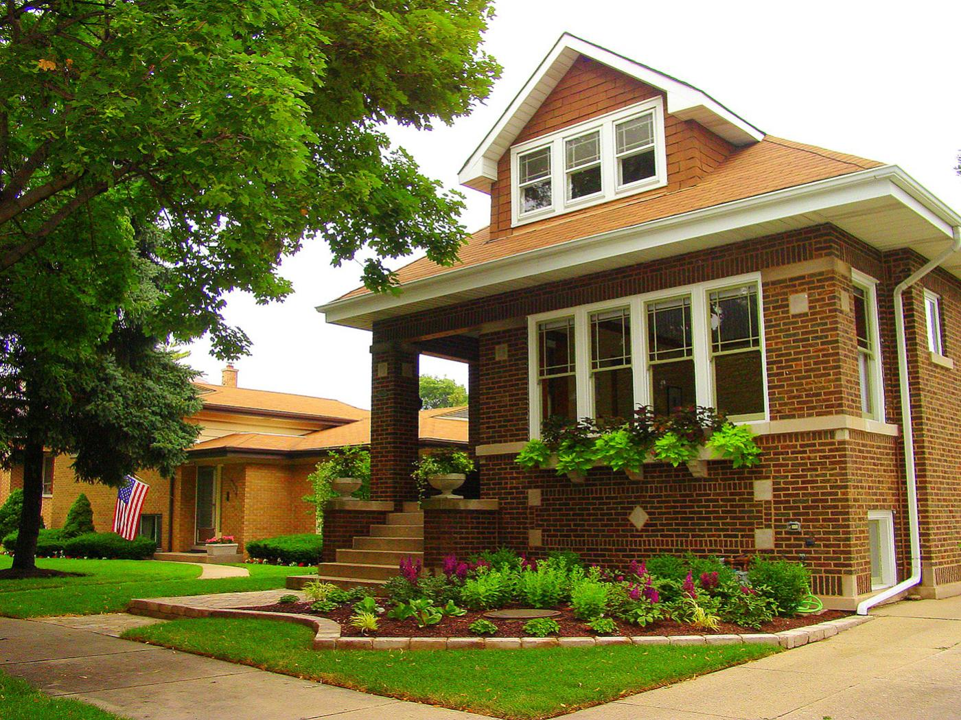 A Chicago bungalow in Skokie, Illinois