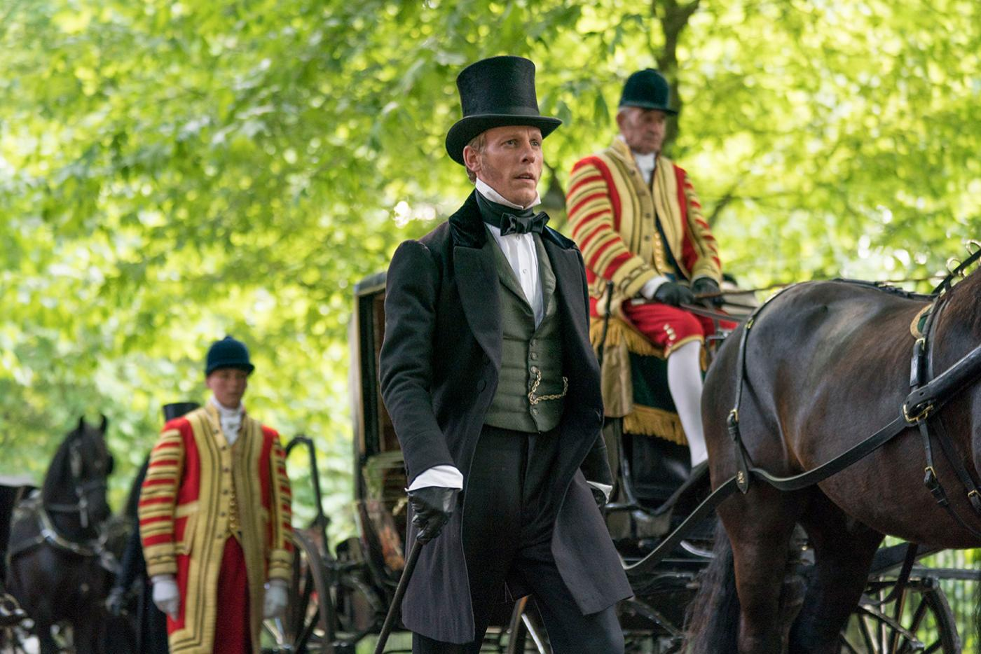 Laurence Fox as Lord Palmerston in Victoria. Photo: Aimee Spinks/ITV Plc for MASTERPIECE
