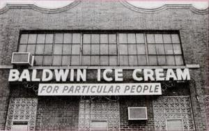 Baldwin Ice Cream factory