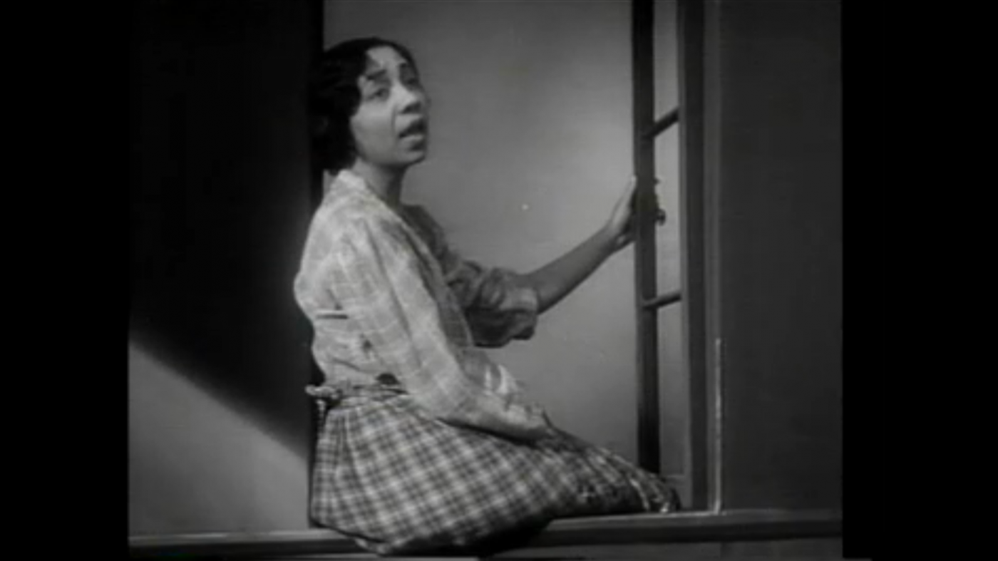 "Etta Moten Barnett singing ""My Forgotten Man"" in ""Gold Diggers of 1933"""
