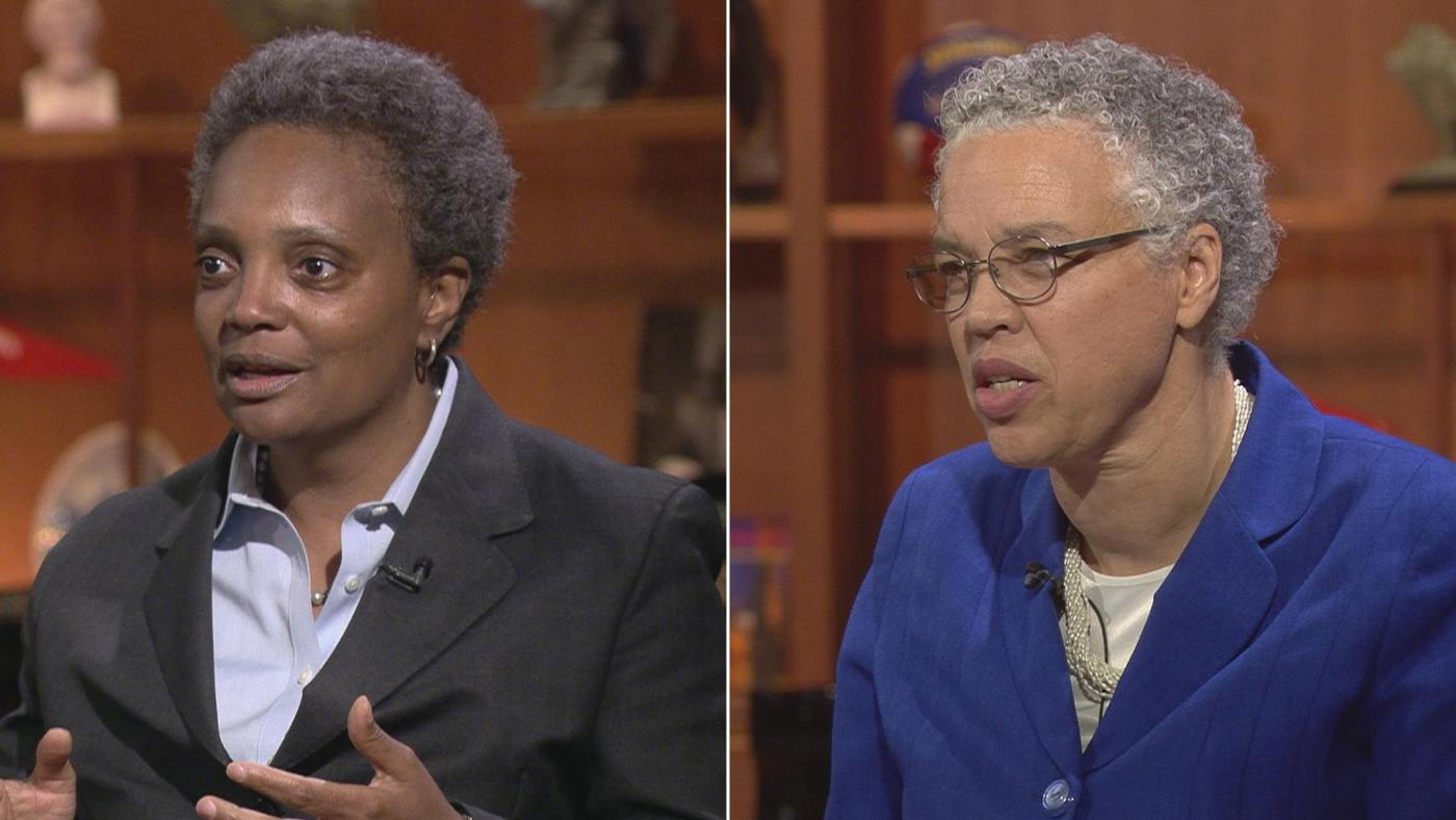 Chicago Mayoral Runoff Candidates Lori Lightfoot and Toni Preckwinkle