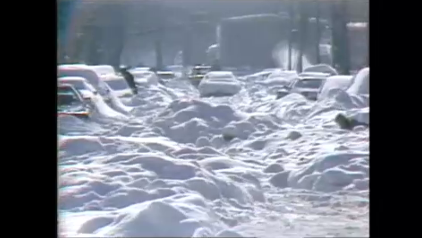 The record-breaking snow of 1979 in Chicago