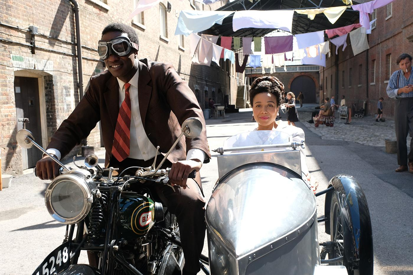 Cyril and Lucille in Call the Midwife. Photo: BBC/Neal Street Productions