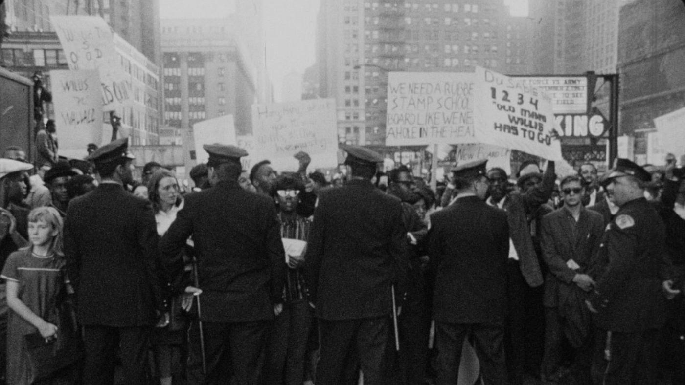 The 1963 boycott and march against segregation in Chicago Public Schools. Photo: Kartemquin Films