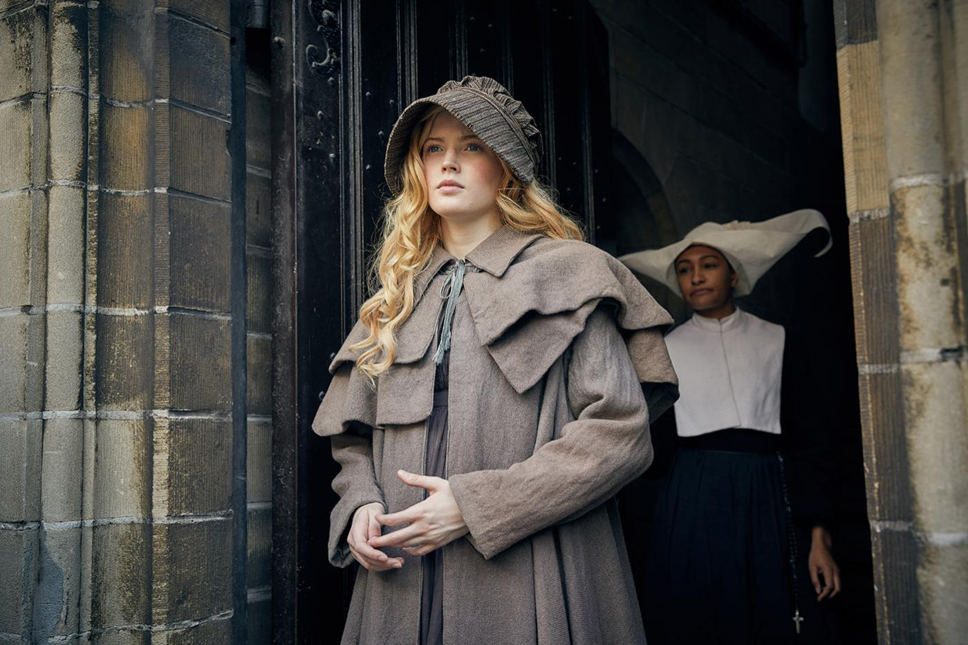 Cosette (Ellie Bamber) in Les Miserables. Photo: Robert Viglasky / Lookout Point