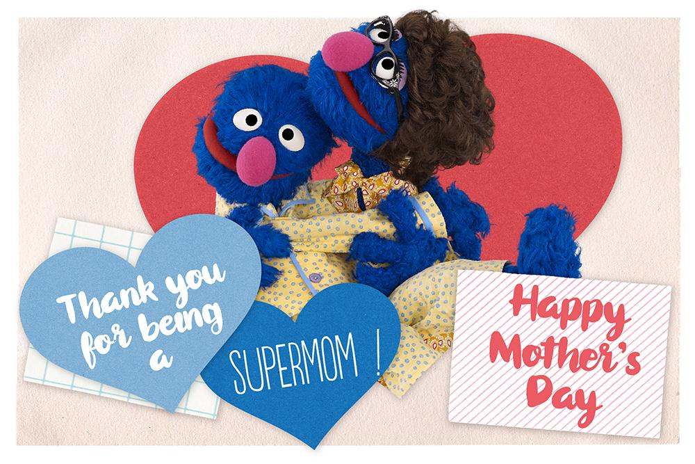 Happy Mother's Day from Elmo