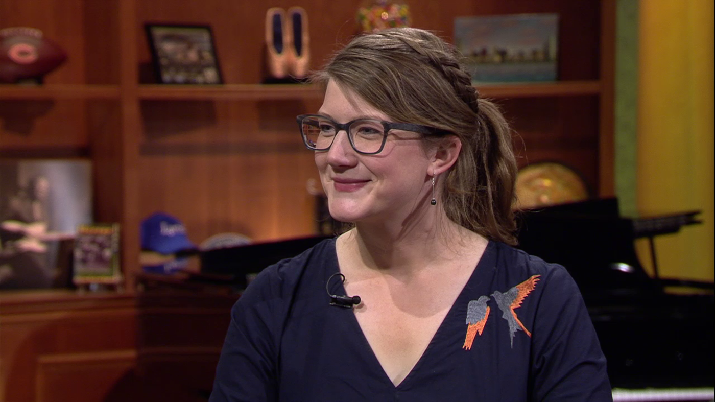 Emily Graslie on Chicago Tonight on April 10, 2018