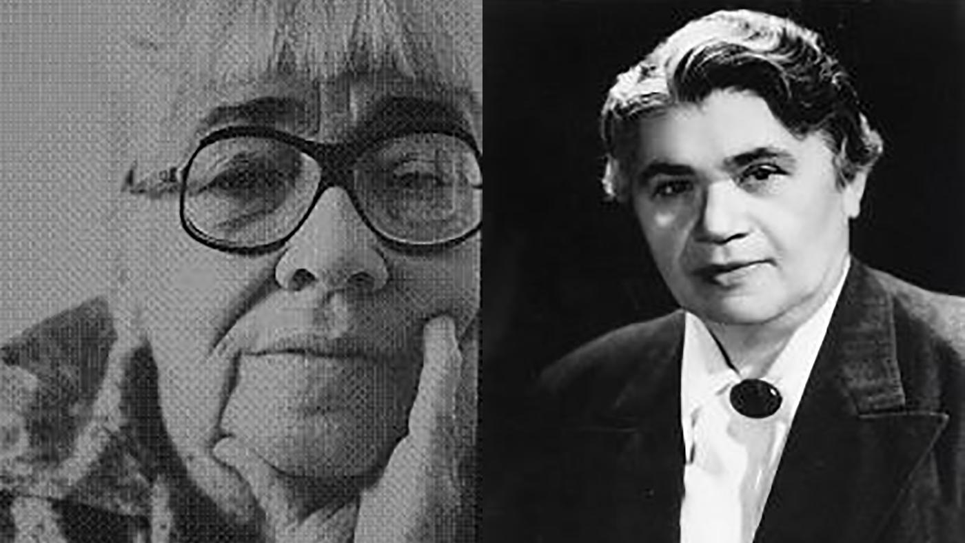 Valerie Taylor and Pearl Hart. Images: Chicago LGBT Hall of Fame