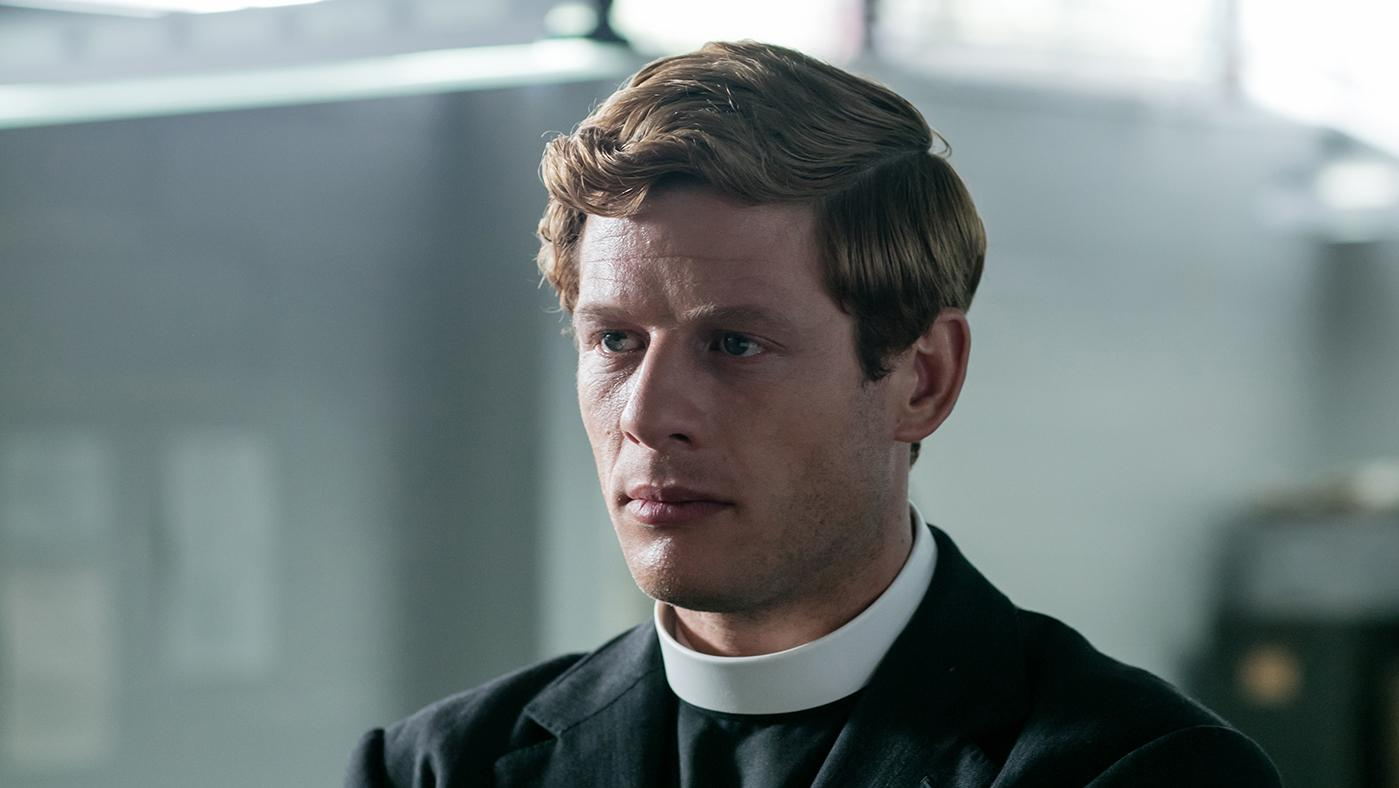 James Norton as Sidney Chambers in Grantchester. Photo: Kudos and MASTERPIECE