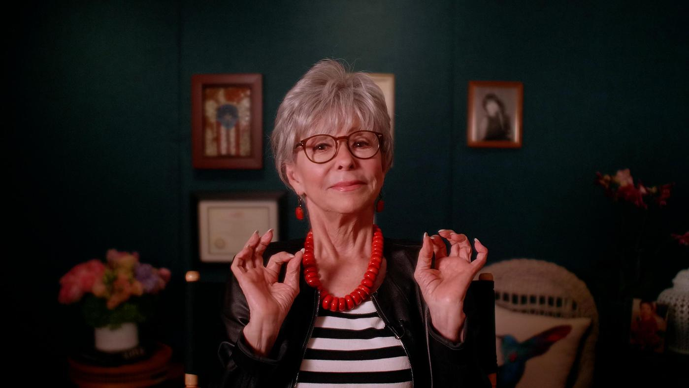 "Rita Moreno in ""Raúl Juliá: The World's a Stage."" Photo: NGL Studios"