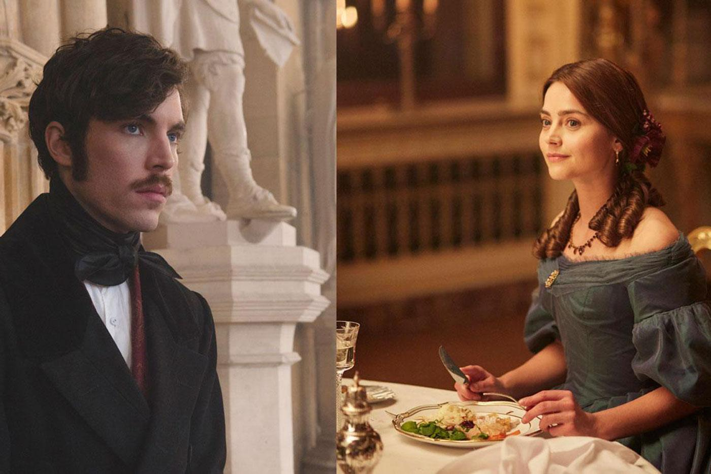 Gloomy, self-serious Albert and delightful, fiery Victoria: seems like a perfect match. (ITV Plc)
