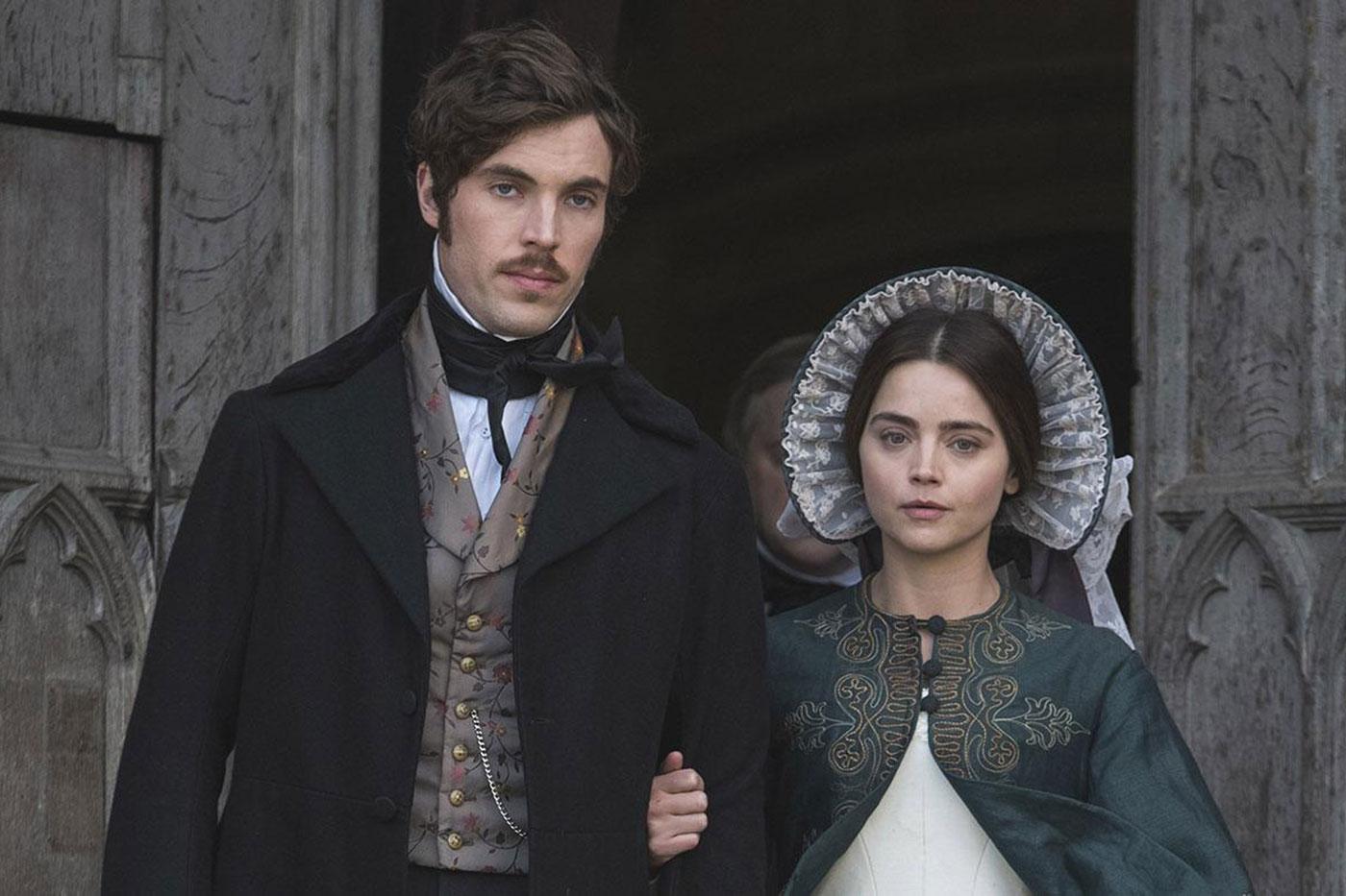 Prince Albert and Victoria. Photo: Courtesy of ITV Studios