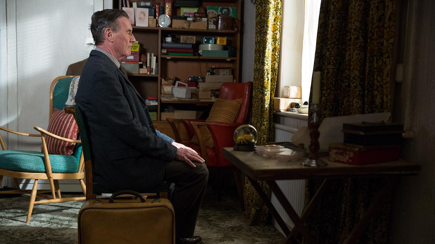 Tom Parfitt (Michael Palin) is eager to move into an assisted living home. Photo: ITV plc