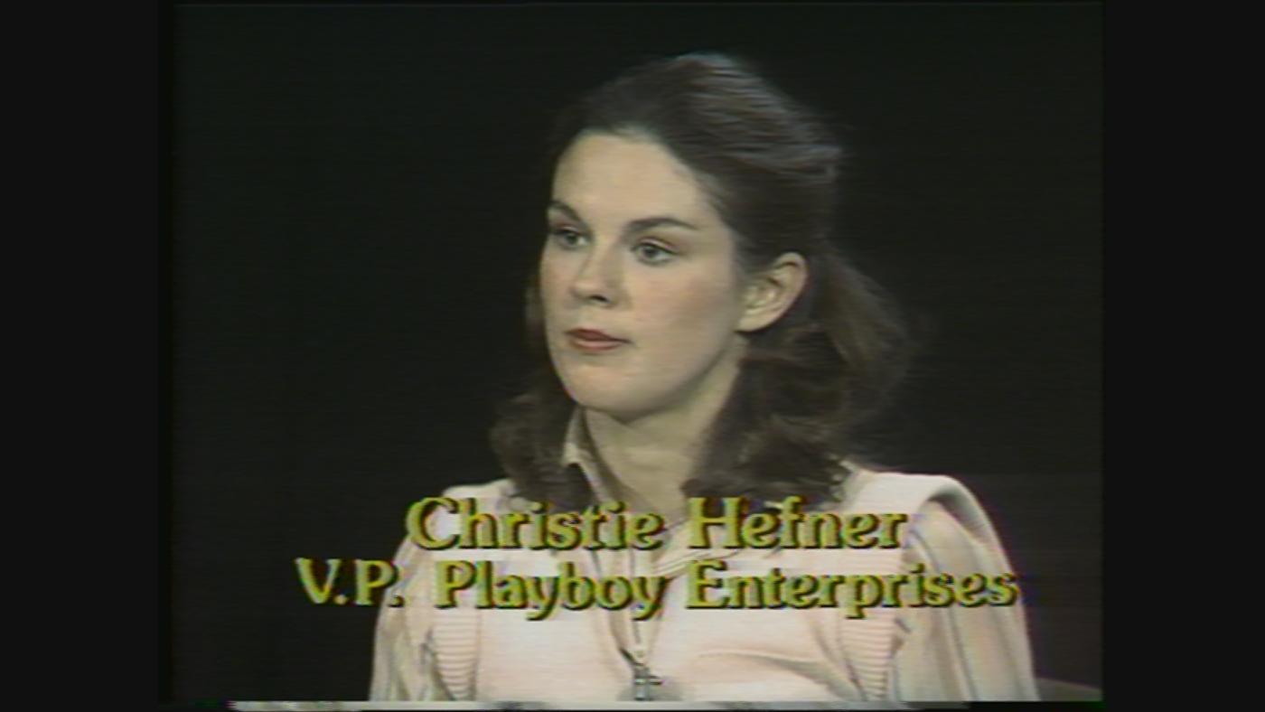 Christie Hefner, former chairman and CEO of Playboy Enterprises