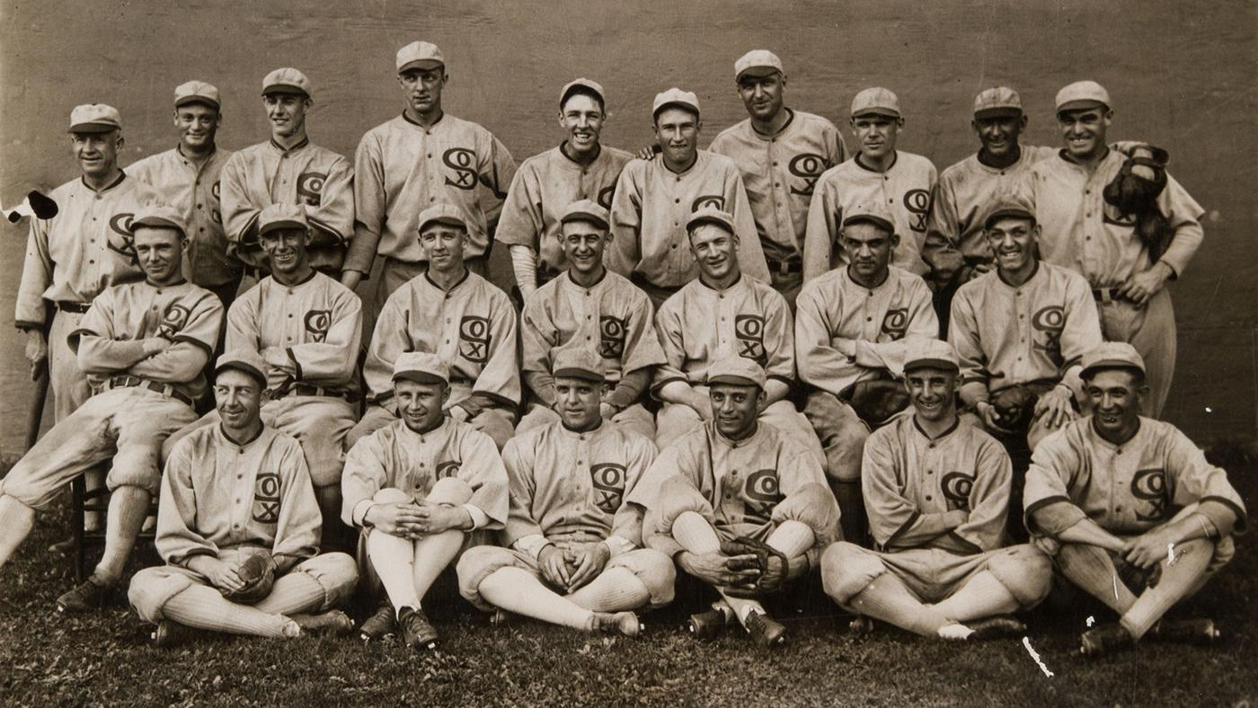 The 1919 Chicago White Sox. Image: Wikimedia Commons