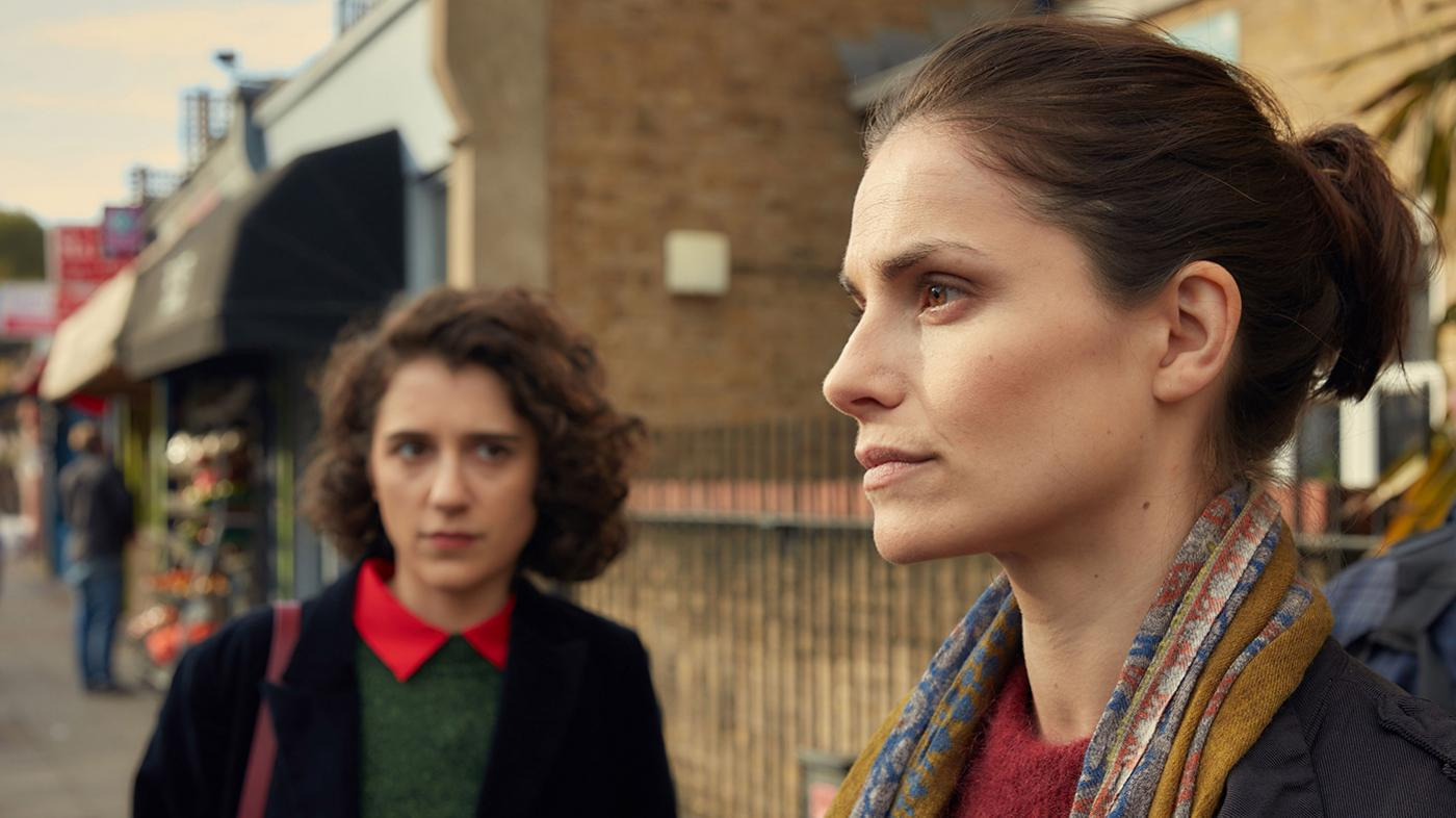 Leona Manning-Lynd (ELLIE KENDRICK), Holly Evans (CHARLOTTE RILEY) in Press. Photo: Lookout Point / Robert Viglasky